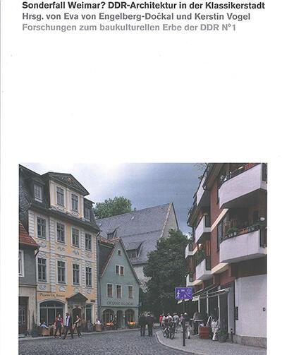 Buch sonderfall weimar ddr architektur in der for Masterarbeit architektur