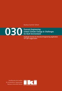 Forecast Engineering: Global Climate Change & Challenges for Built Environment